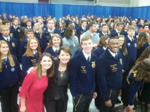 I wish you had been there to see 60,000 outstanding young men and women gather in Louisville, Kentucky for the 87th Annual Future Farmers of America Convention. One day these young people will take over this country. These students are leaders, they are innovators and savvy. They are thought leaders, excellent communicators and have a passion to make a difference in the world-no kidding.