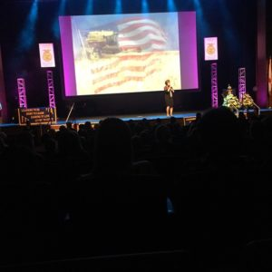 """This past week I was honored to recapture my unforgettable experience of speaking for the National Future Farmers of America group last October in Louisville, KY. I spoke for South Carolina FFA and Alabama FFA entitling my speech, """"Don't Throw Tomatoes at my Field of Dreams."""" As always, these young people are set apart from the stereo-type of modern day youth."""