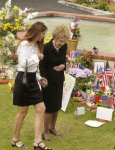 Patti Davis spoke beautifully about her mother, Nancy Reagan. Known for their difficult relationship, Patti's eulogy was filled with wisdom for all parents.